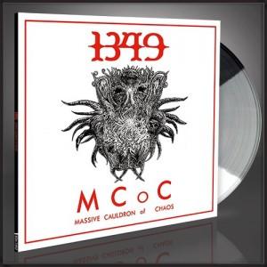 1349 Massive Cauldron of Chaos web exclusive tri-color Lp