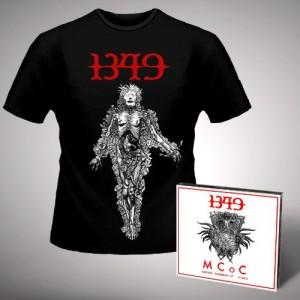 1349 Massive Cauldon of Chaos jewel case cd + Postmortem Shirt Bundle